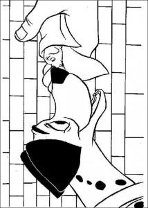 раскраска 101 Далматинец (3)
