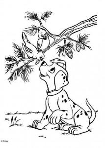 kleurplaat 101 Dalmatiers (35)
