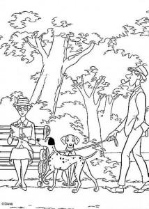 coloring page 101 Dalmatians (36)