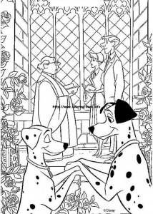 kleurplaat 101 Dalmatiers (37)
