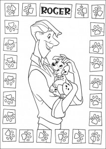 kleurplaat 101 Dalmatiers (40)