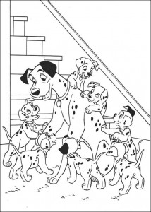 coloring page 101 Dalmatianer (42)
