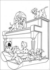 coloring page 101 Dalmatians (44)