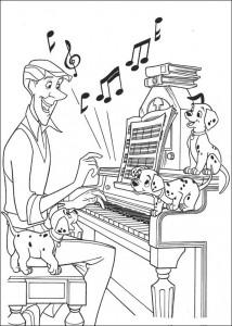 coloring page 101 Dalmatians (46)