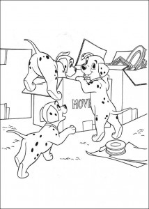 coloring page 101 Dalmatianer (57)