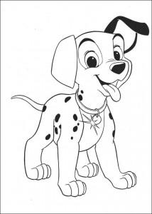 kleurplaat 101 Dalmatiers (58)