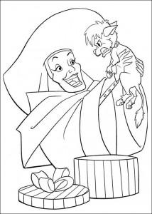 раскраска 102 Далматинец (2)