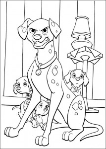 coloring page 102 Dalmatianer (22)