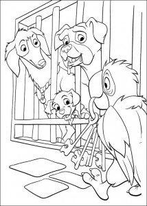 coloring page 102 Dalmatianer (29)