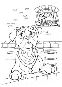 coloring page 102 Dalmatianer (3)