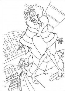 coloring page 102 Dalmatianer (32)
