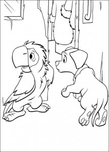coloring page 102 Dalmatianer (39)