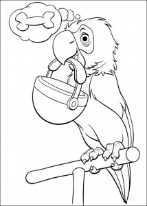 coloring page 102 Dalmatianer (4)