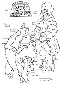 coloring page 102 Dalmatianer (8)