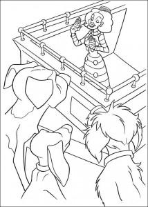 раскраска 102 далматинец