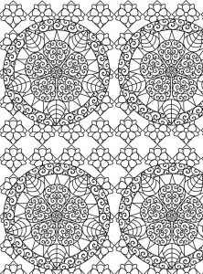 Coloring page Abstract for adults (11)