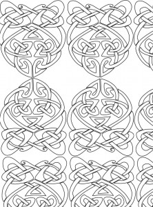 Coloring page Abstract for adults (12)
