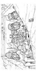 målarbok Abu Simbal, Egypten