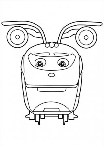 Action Chugger coloring page