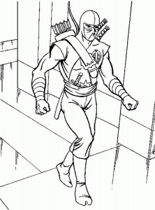 coloring page Action Man (16)