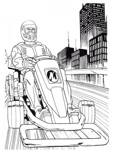 coloring page Action Man (7)