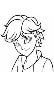 kleurplaat Adrien