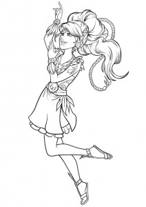 coloring page aira