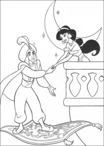 coloring page Aladdin (11)