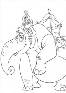 coloring page Aladdin (14)