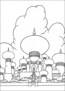 coloring page Aladdin (2)