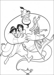 coloring page Aladdin (20)