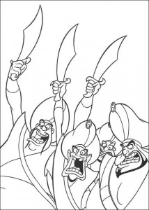 coloring page Aladdin (3)