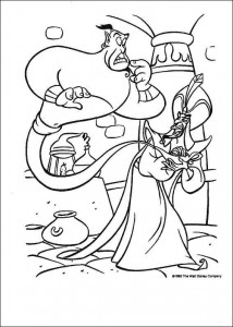 coloring page Aladdin (43)