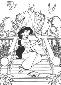 coloring page Aladdin (6)