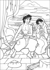 coloring page Aladdin (8)