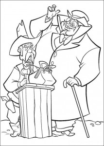 coloring page Alamada Slim and the sheriff