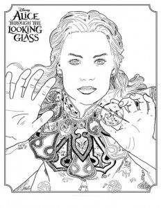 coloring page Alice (1)