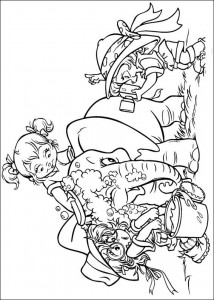 coloring page Alvin and the Chipmunks (18)