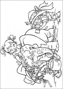 раскраска Элвин и бурундуки (18)