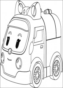 amber coloring page