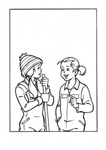 coloring page Amika (7)