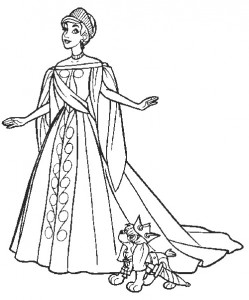 coloring page Anastasia (15)