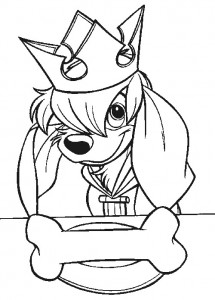 coloring page Anastasia (16)