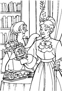 coloring page Anastasia (24)