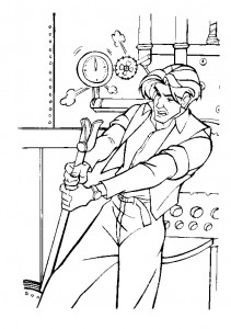 coloring page Anastasia (31)