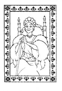 coloring page Anastasia (33)