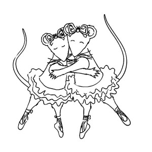 coloring page Angelina Ballerina (10)