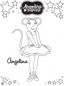 coloring page Angelina Ballerina (11)