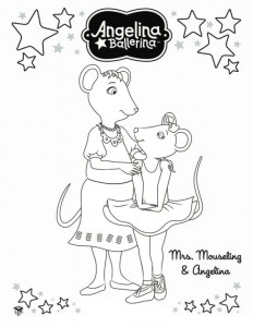 coloring page Angelina Ballerina (13)