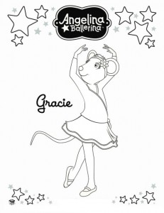 coloring page Angelina Ballerina (16)